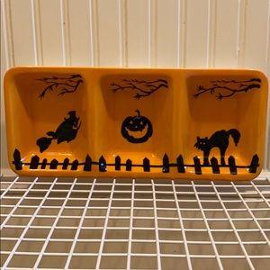 Sur La Table Halloween 3 part party platter